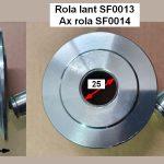 Rola si ax pentru cilindru hidraulic elevator