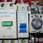 Componente electrice din panoul de comanda al elevatorului